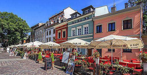 Szeroka Street in Kazimierz